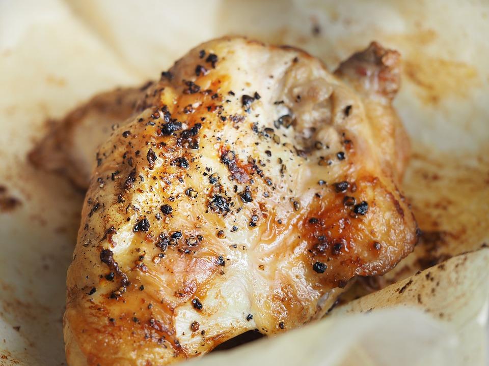 Restes de poulet