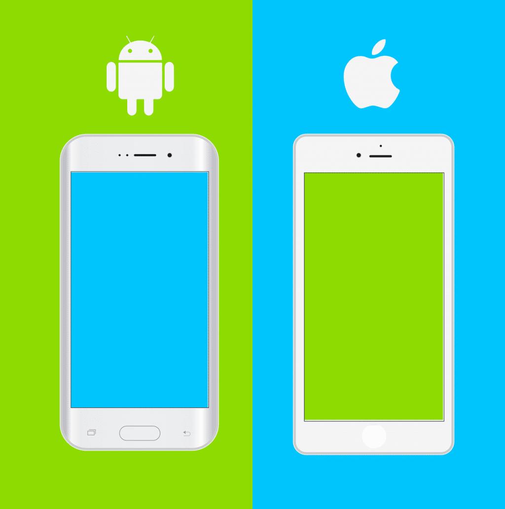 La guerre Android vs iOS : 90% des utilisateurs prennent une position ferme et définitive