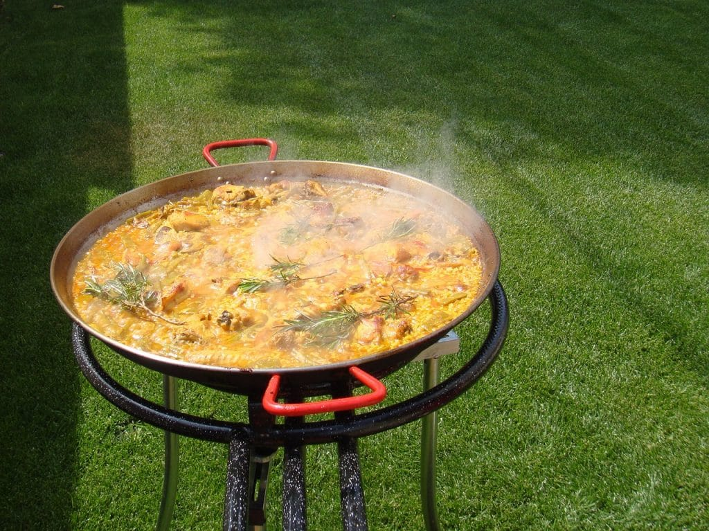 Recette paella poulet