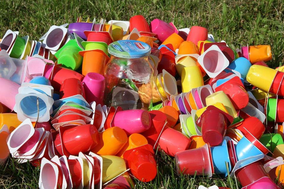 Gobelet en plastique