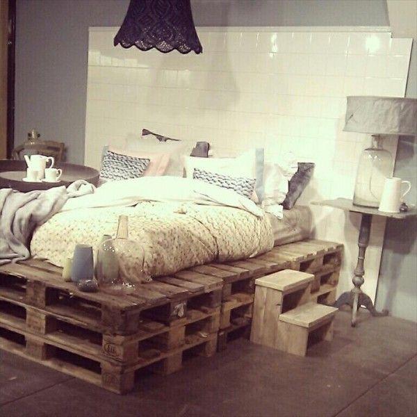 Mon lit en palette