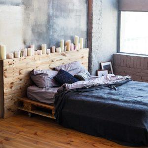 Palette pour lit