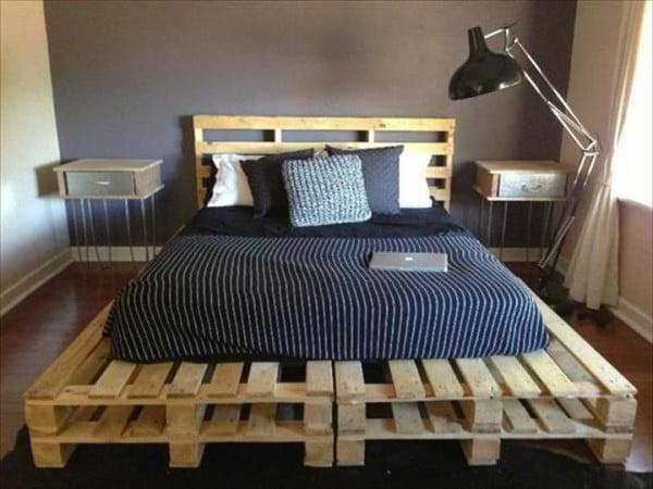 Une palette pour lit