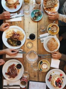 longue table cuisine