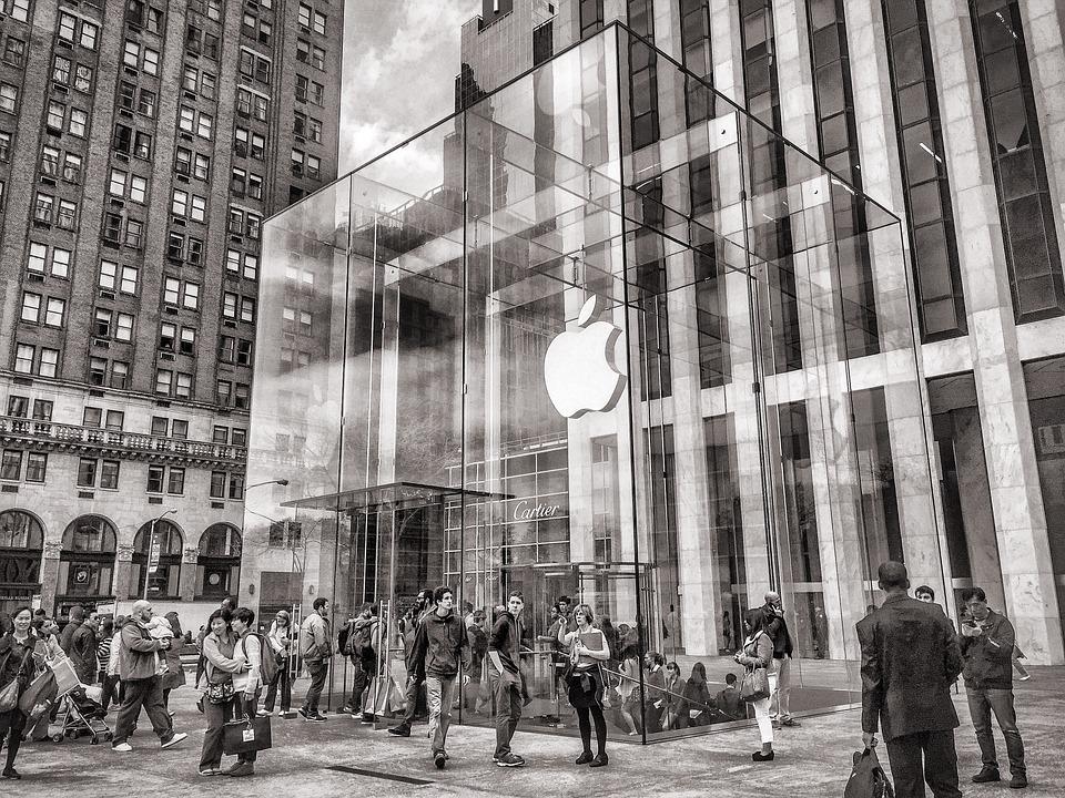 La multiplication des Apple Store dans différents pays