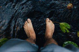 orteil eau froide