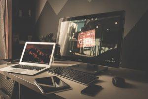 ecran de PC